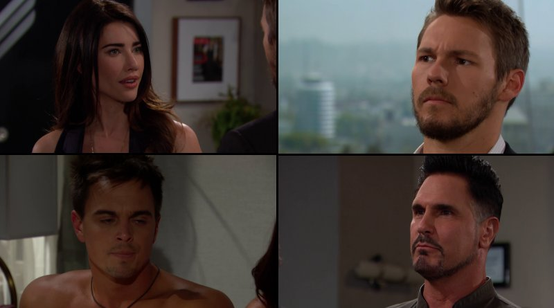 Bold and the Beautiful Twisted Couples Steffy, Liam, Wyatt, and Bill