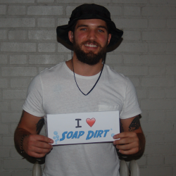 Bryan Craig Loves Soap Dirt