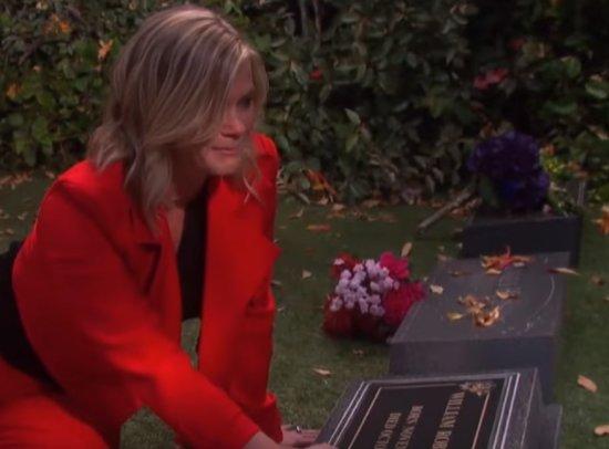 DOOL - Sami at Will's grave