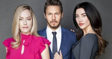 B&B's Annika Noelle, Scott Clifton, and Jacqueline Wood