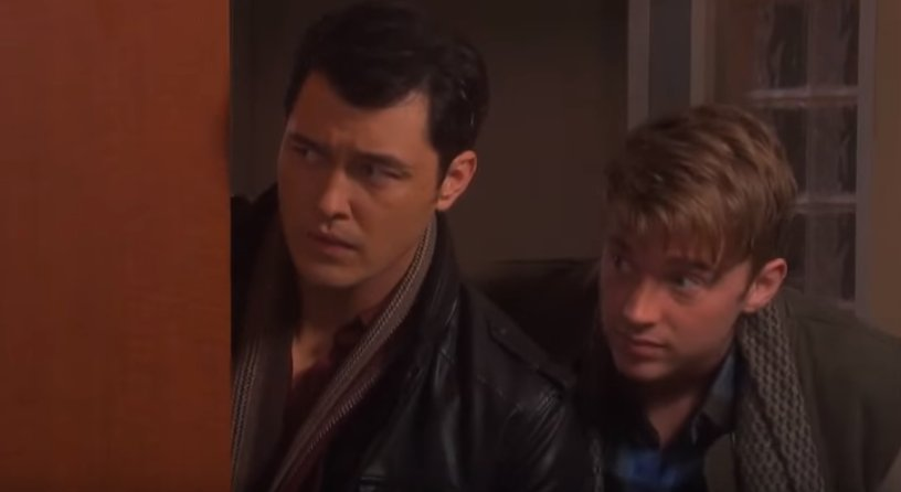 DOOL's Christopher Sean and Chandler Massey