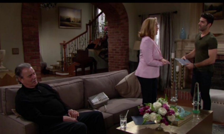 Young and the Restless - Eric Braeden, Melody Thomas Scott, and Jason Canela