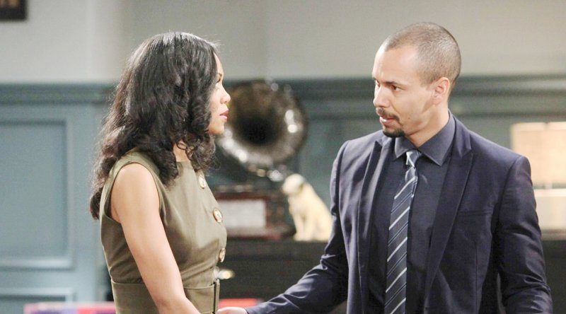Y&R's Mishael Morgan and Bryton James