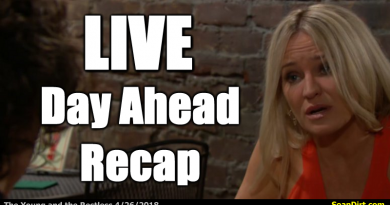 Young and the Restless Day Ahead Recap 4/26/2018