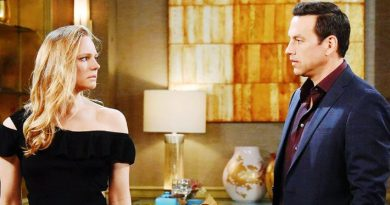 DOOL Marci Miller and Tyler Christopher