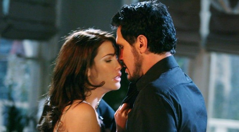The Bold and The Beautiful - Bill Spencer - Dollar Bill (Don Diamont) Steffy Forrester (Jacqueline MacInnes Wood)