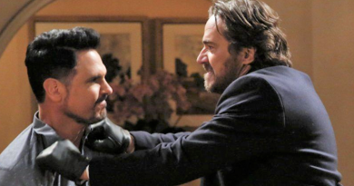 Bold and the Beautiful - Bill Spencer (Don Diamont) and Ridge Forrester (Thorsten Kaye)