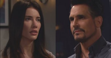 Bold and the Beautiful - Steffy Forrester (Jacqueline Wood) - Bill Spencer (Don Diamont)