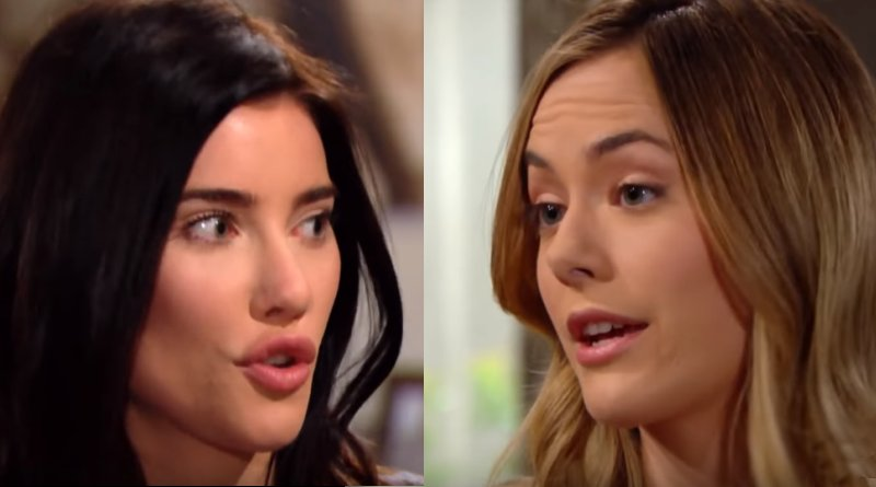 Bold and the Beautiful - Steffy Forrester (Jacqueline MacInnes Wood) Hope Logan (Annika Noelle)