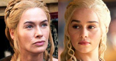 Game of Thrones - Cersei Lannister - Lena Headey - Daenerys Targaryen - Emilia Clarke