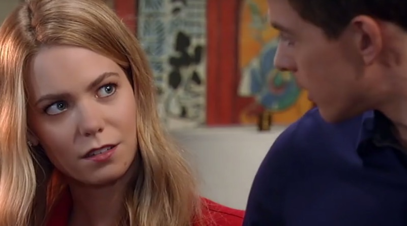 General Hospital - Nelle and Michael - Chloe Lanier and Chad Duell