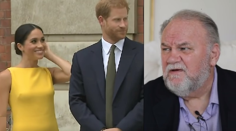 Meghan Markle - Prince Harry - Thomas Markle