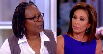 The View - Whoopi Goldberg - Judge Jeanine Pirro