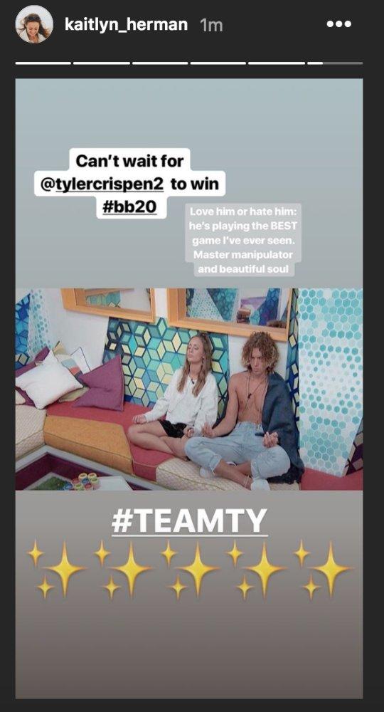 Big Brother 20 - Kaitlyn Herman and Tyler Crispen