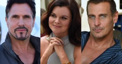 Bold and the Beautiful - Bill Spencer (Don Diamont) - Katie Logan (Heather Tom) - Thorne Forrester (Ingo Rademacher)