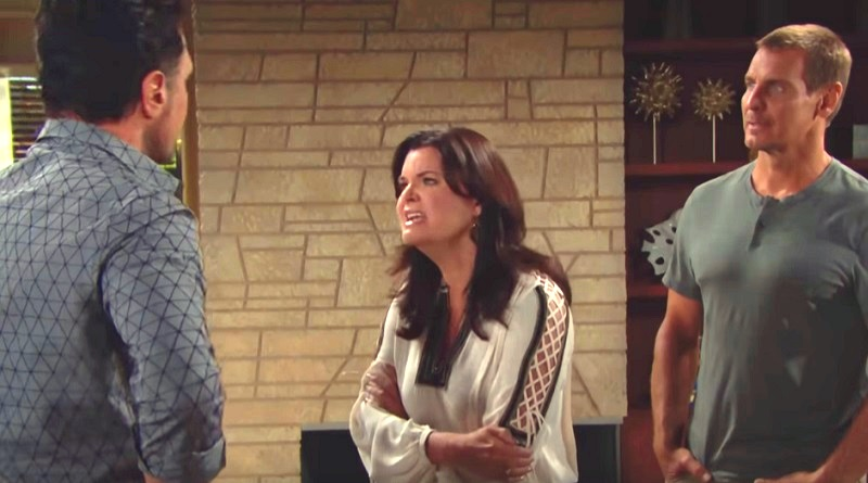 Bold and the Beautiful - Bill Spencer (Don Diamont) Katie Logan (Heather Tom) Thorne Forrester (Ingo Rademacher)