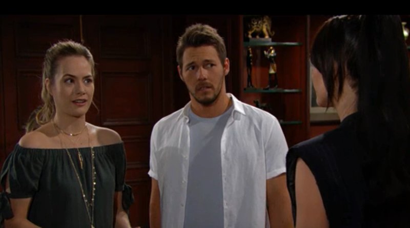 Bold and the Beautiful - Hope Logan (Annika Noelle) - Liam Spencer (Scott Clifton) - Steffy Forrester (Jacqueline MacInnes Wood)