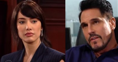 Bold and the Beautiful Steffy Forrester -Jacqueline MacInnes Wood - Bill Forrester - Don Diamont