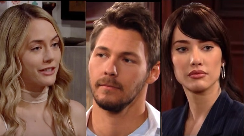 Bold and the Beautiful - Steffy Forrester - - Jacqueline MacInnes Wood- Hope Logan - Annika Noelle - Liam Spencer- Scott Clifton