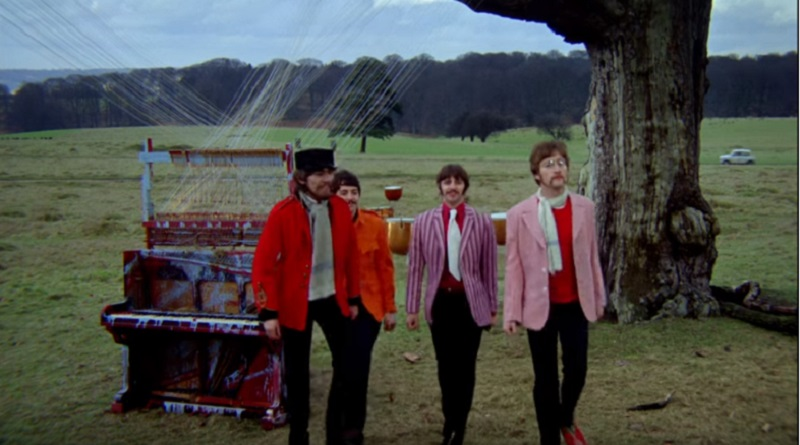 Beatles Son's Pictures as Mirror Image - Paul McCartney - John Lennon, Ringo Starr, George Harrison