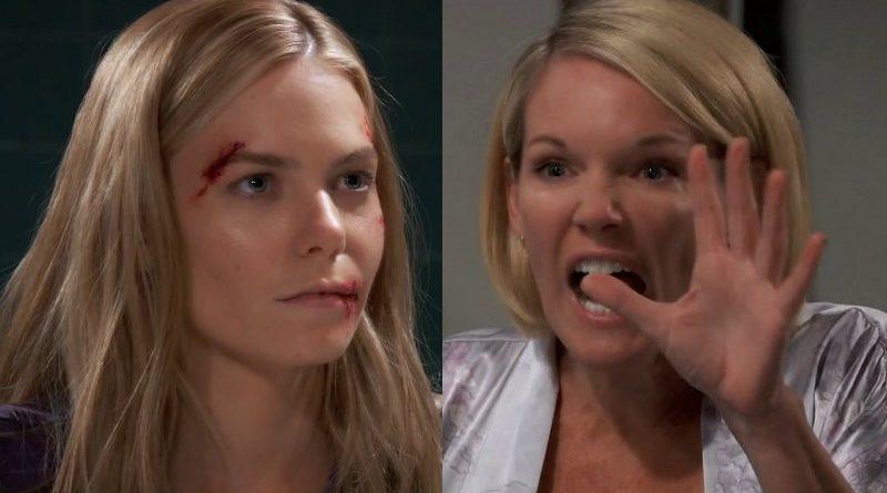 General Hospital Spoilers: Nelle Benson (Chloe Lanier) - Ava Jerome (Maura West) Baby Blanket