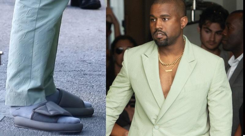 Kanye West Slippers