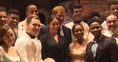 Meghan Markle - Prince Harry - Cast of Hamilton