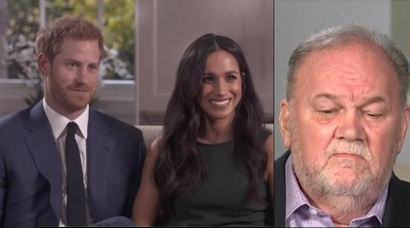 Meghan Markle and Prince Harry - Thomas Markle
