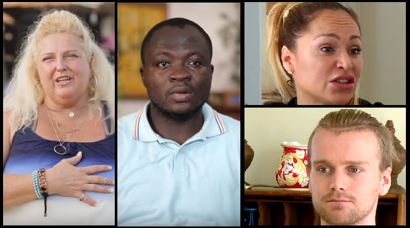 90 Day Fiance Angela Deem and Michael Ilesanmi - Darcey Silva and Jesse Meester