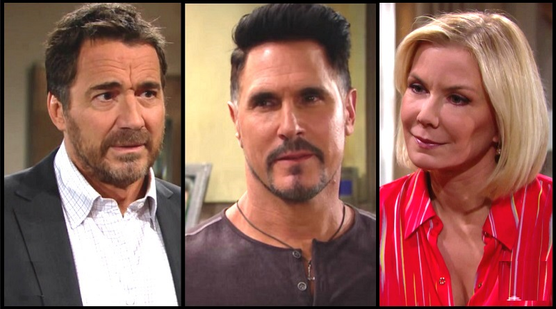 Bold and the Beautiful Spoilers: Ridge Forrester (Thorsten Kaye) Bill Spencer (Don Diamont) Brooke Logan (Katherine Kelly Lang)