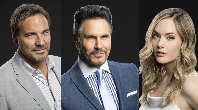 Bold and the Beautiful Spoilers: Ridge Forrester (Thorsten Kaye) - Bill Spencer (Don Diamont) - Hope Logan (Annika Noelle)