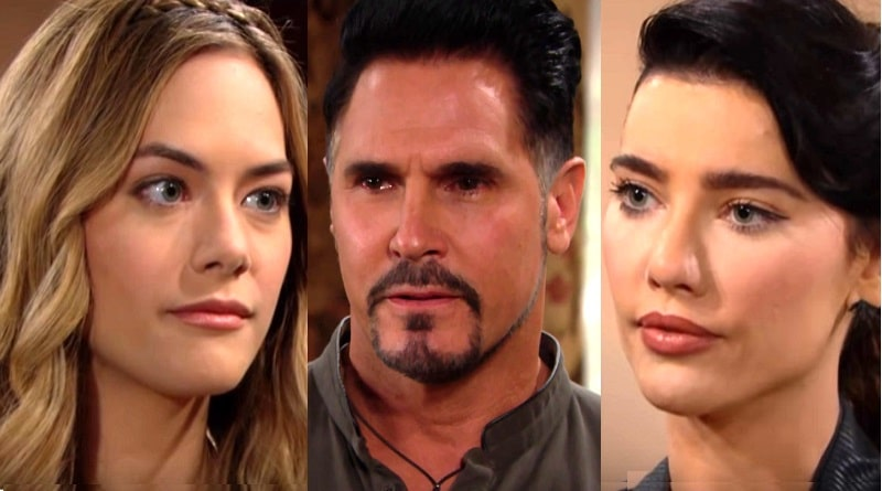 Bold and the Beautiful Spoilers: Steffy Forrester ( Jacqueline MacInnes Wood) Bill Spencer (Don Diamont) Hope Logan - (Annika Noelle)5