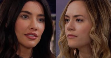 Bold and the Beautiful Spoilers: Steffy Forrester (Jacqueline MacInnes Wood) - Hope Logan (Annika Noelle)