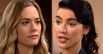 Bold and the Beautiful Spoilers - Steffy Forrester ( Jacqueline MacInnes Wood) - Hope Logan (Annika Noelle)