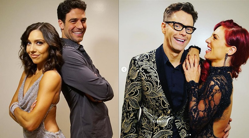 Dancing with the Stars - Grocery Store Joe Amabile and Jenna Johnson - Bobby Bones and Sharna Burgess