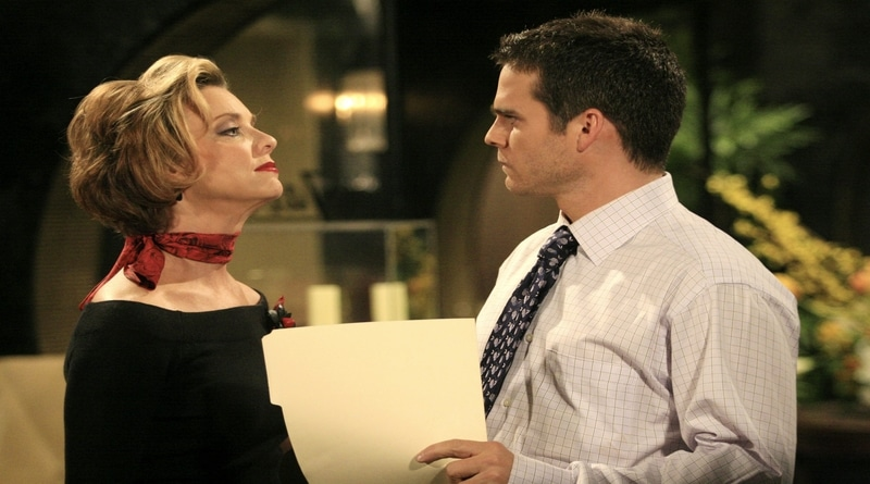 Days of Our Lives: Judith Chapman (Diana Cooper) - Greg Rikaart (Leo Stark)