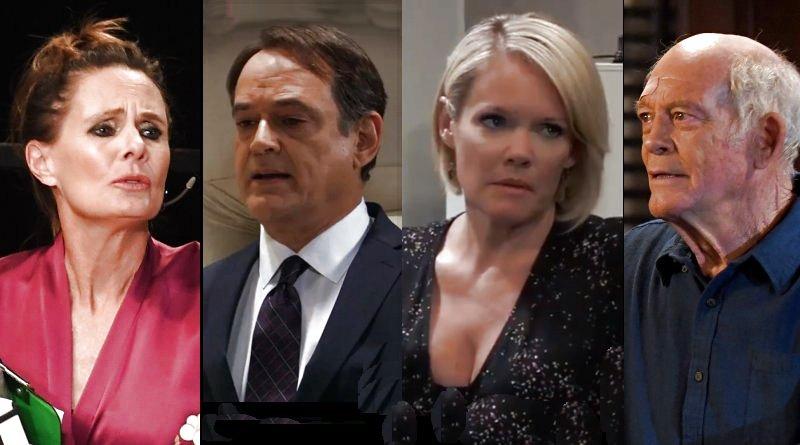 General Hospital Spoilers: Lucy Coe (Lynn Herring) - Ryan Chamberlain (Jon Lindstrom) - Ava Jerome (Maura West) - Mike Corbin (Max Gail)