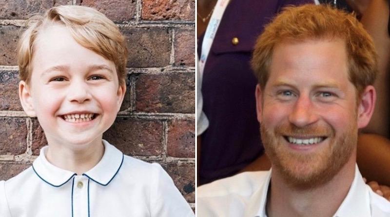 Royal Family: Prince George - Prince Harry
