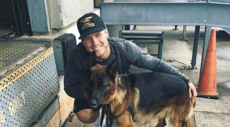 The Bachelor Colton Underwood from Instagram