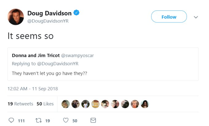 Young and the Restless: Doug Davidson fired-confirmed