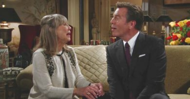 Young and the Restless Spoilers: Dina Mergeron (Marla Adams) - Jack Abbott (Peter Bergman)