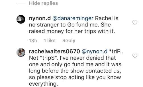 90 Day Fiance: Rachel Bear - gofundme