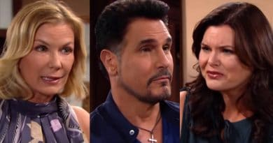 Bold and the Beautiful Spoilers: Brooke Logan (Katherine Kelly Lang) Bill Spencer (Don Diamont) Katie Logan (Heather Tom)