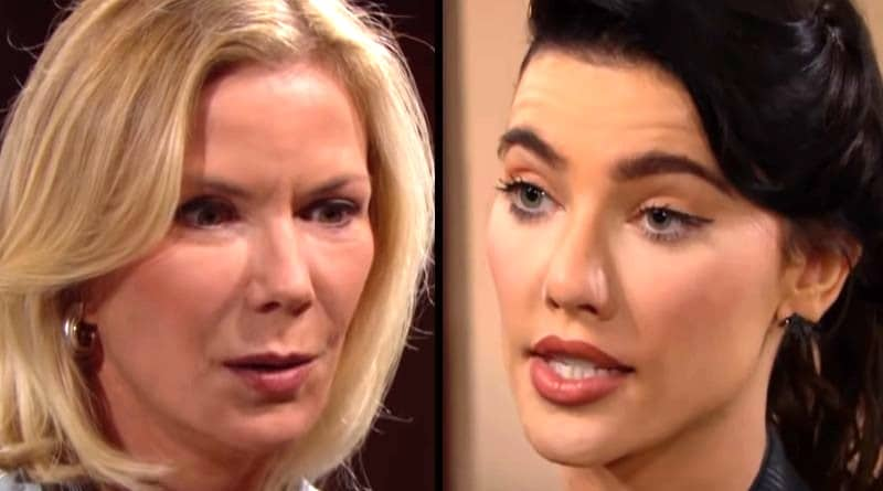 Bold and the Beautiful Spoilers: Hope Logan (Katherine Kelly Lang)- Steffy Forrester (Jacqueline MacInnes Wood)