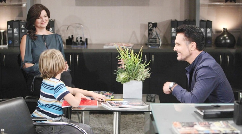 Bold and the Beautiful Spoilers: Katie Logan (Heather Tom) - Will Spencer (Finnegan George) - Bill Spencer (Don Diamont)