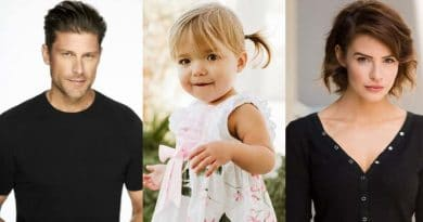 Days of Our Lives Spoilers: Greg Vaughan (Eric Brady) - Oakley and Taytum Fisher (Holly Jonas) - Linsey Godfrey (Sarah Horton)