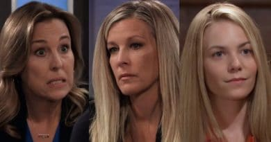 General Hospital Spoilers: Laura Spencer (Genie Francis) - Carly Corinthos (Laura Wright) - Nelle Hayes (Chloe Lanier)