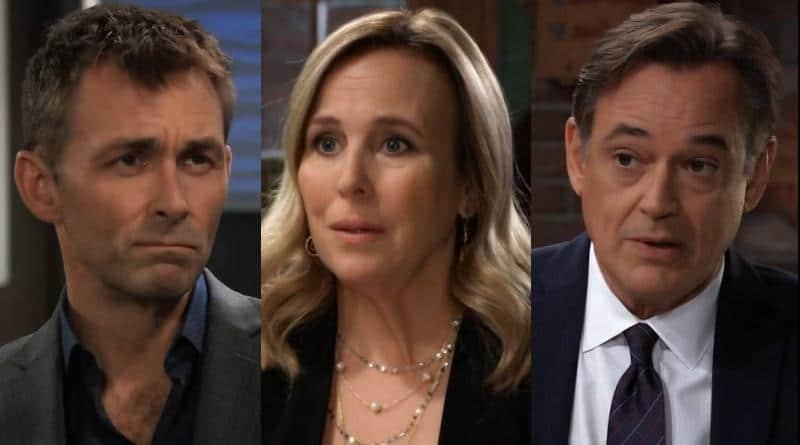 General Hospital Spoilers: Laura Spencer (Genie Francis), Valentin Cassadine (James Patrick Stuart) and Ryan Chamberlain (Jon Lindstrom)