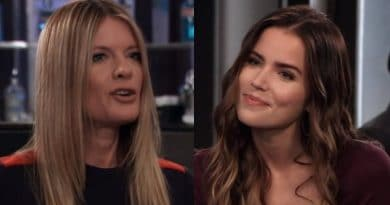 General Hospital Spoilers: Nina Reeves (Michelle Stafford) - Sasha Gilmore (Sofia Mattsson)