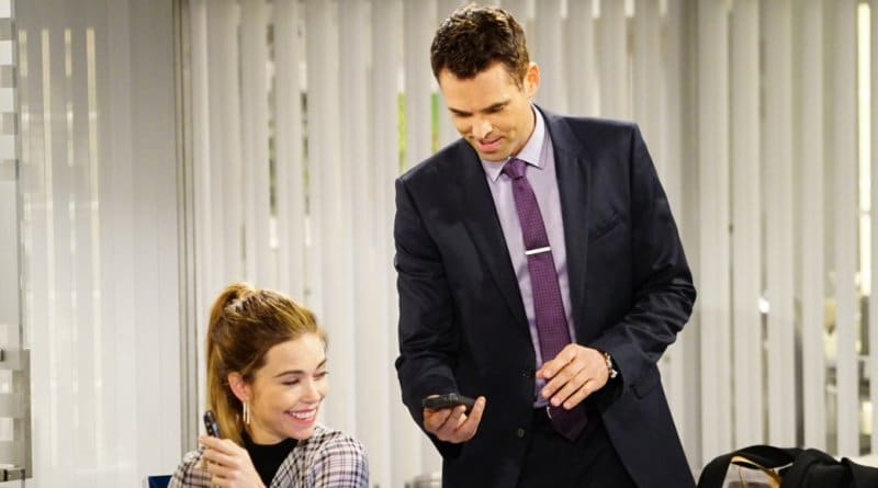 The Young and the Restless spoilers: Victoria Newman (Amelia Heinle) - Billy Abbott (Jasno Thompson)